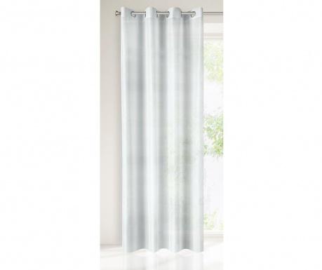 Perdea Nel White Silver 140x250 cm