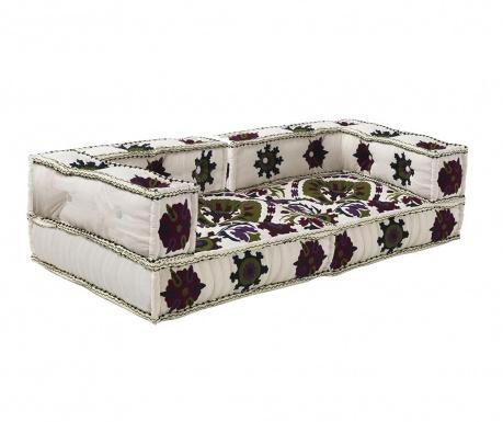 Set 2 jastuka za sjedenje Yantra White