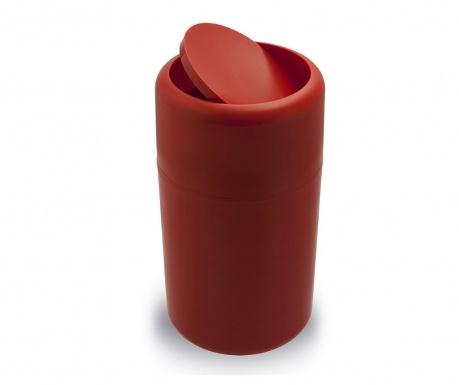 Cos de gunoi cu capac Flip Red 14 L