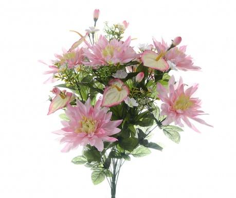 Kytice z umělých květin Dahlia Pink
