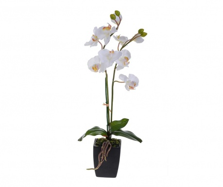 Floare artificiala in ghiveci Orchid Pot