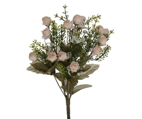 Kytice z umělých květin Little Roses Beige