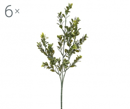 Sada 6 umělých rostlin Bossolo