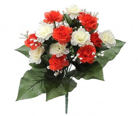 Kytice z umělých květin Carnation and Gypsophila   Red