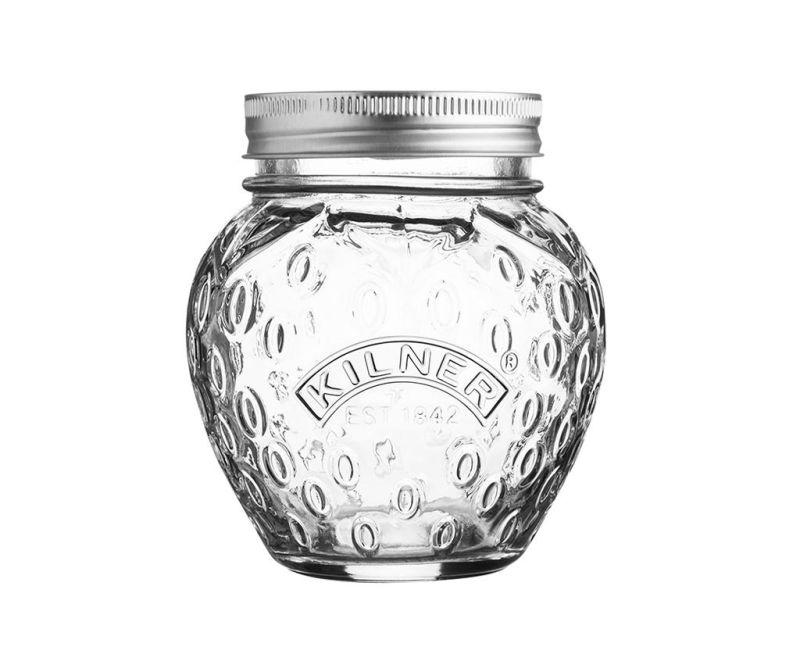Steklenka s pokrovom Adon Strawberry 400 ml
