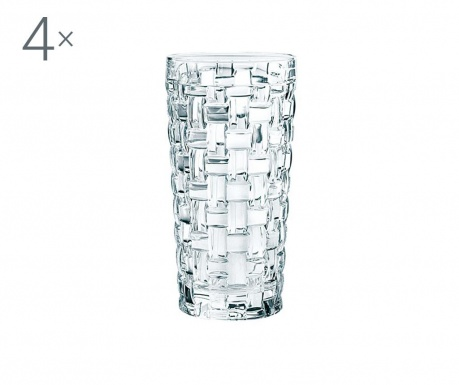 Set 4 pahare Nachtmann Bossa Nova Crystalite 390 ml