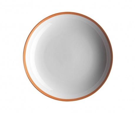 Swoon Orange Desszertes tányér