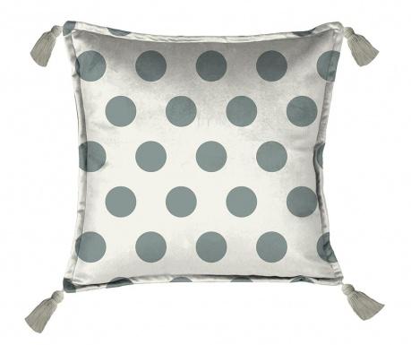 Dekorační polštář Turquoise Dots 45x45 cm