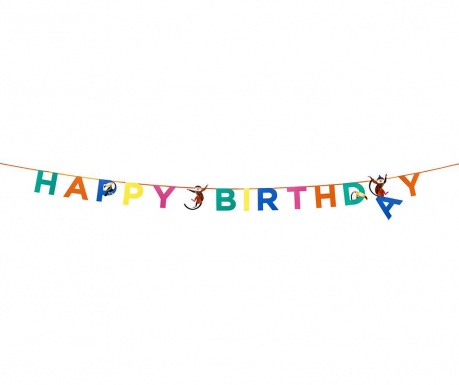 Happy Birthday Díszfüzér