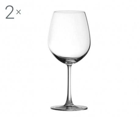 Set 2 pahare pentru vin Ocean 600 ml