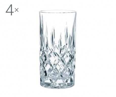 Nachtmann Noblesse Crystalite Extra 4 db Pohár 375 ml