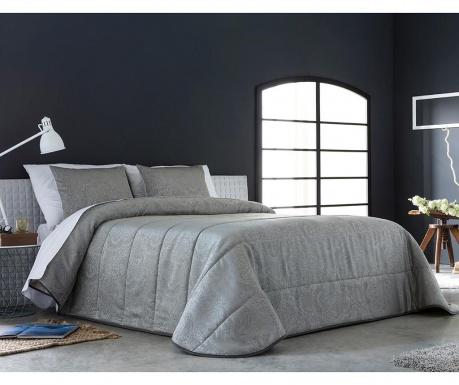Set s prešitim posteljnim pregrinjalom King Vega Grey
