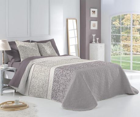 Set s prešitim posteljnim pregrinjalom King Celina Grey
