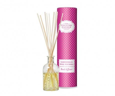Polka Dot Gardenia and Pink Fuchsia Szobaillatosító illóolajjal és pálcikákkal 100 ml
