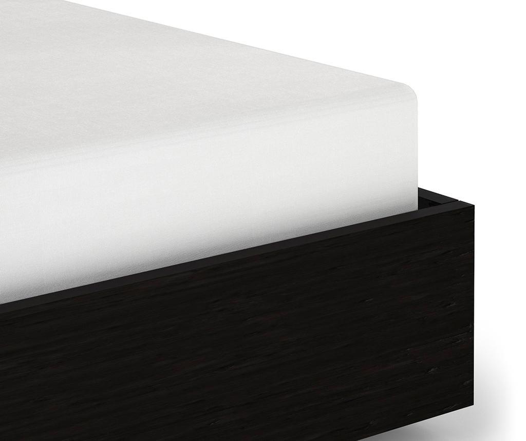 Donja elastična plahta Sateen Wit 160x200 cm