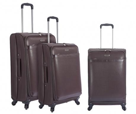 Sada 3 cestovních kufrů na kolečkách Nestor