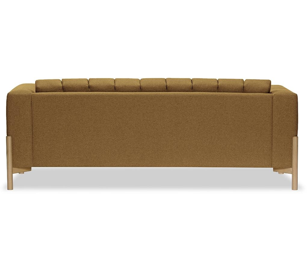 Canapea 3 locuri Haki Ontario Brown