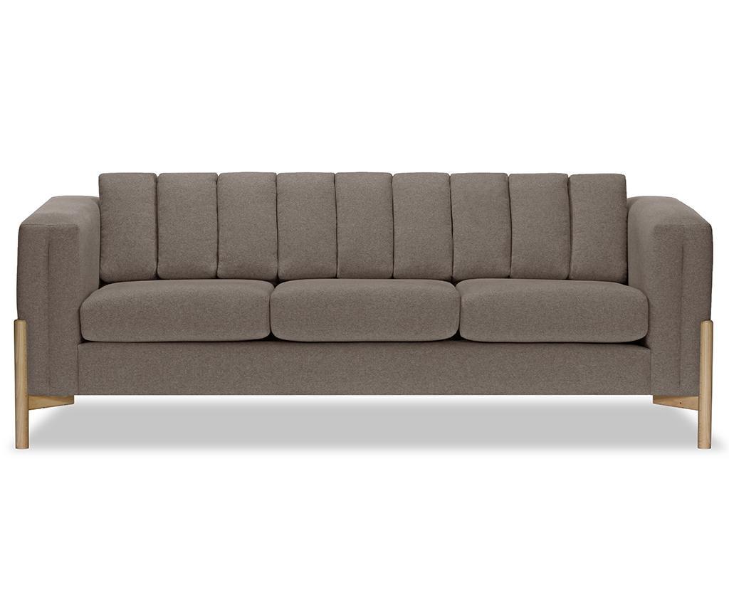 Canapea 3 locuri Haki Ontario Grey