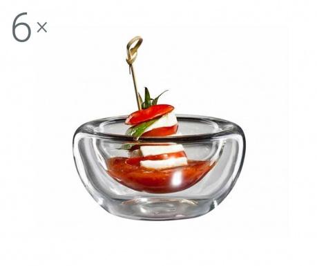 Flatbowl 6 db Előételes tálka 150 ml