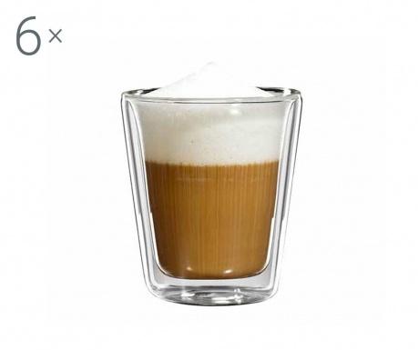 Straight 6 db  Cappuccino pohár 150 ml