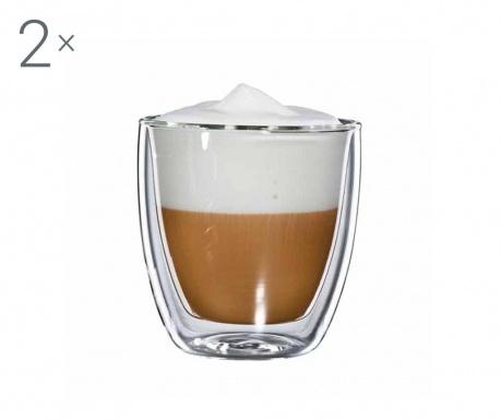 Large Twin 2 db Cappuccino  pohár 250 ml