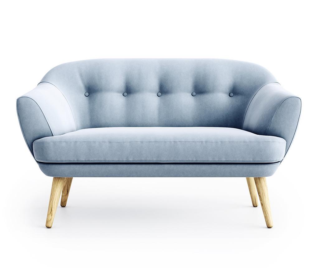 Kauč dvosjed Elsa Riviera Steel Blue