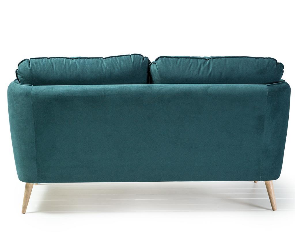 Clara Basel Green Blue Kétszemélyes Kanapé