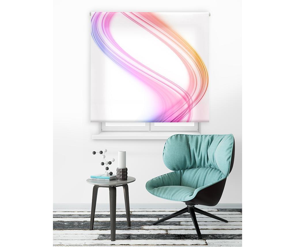 Spiral Vibes Pink Roletta 80x180 cm