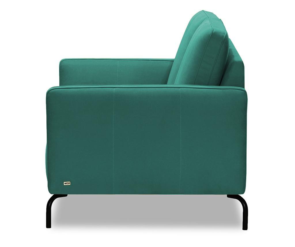 Canapea 2 locuri Xeen Cosmic Turquoise