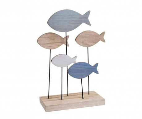 Decoratiune Fish Blue