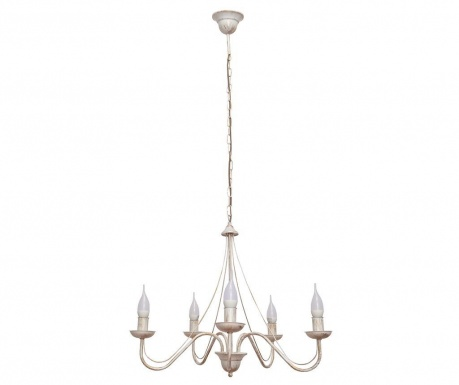 Candelabru Malbo Five White