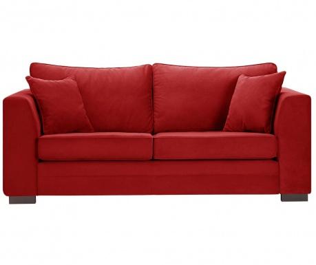 Třímístná pohovka Taffetas Glamour Red