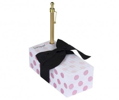 Комплект кубче с бележки и химикал Don't Forget