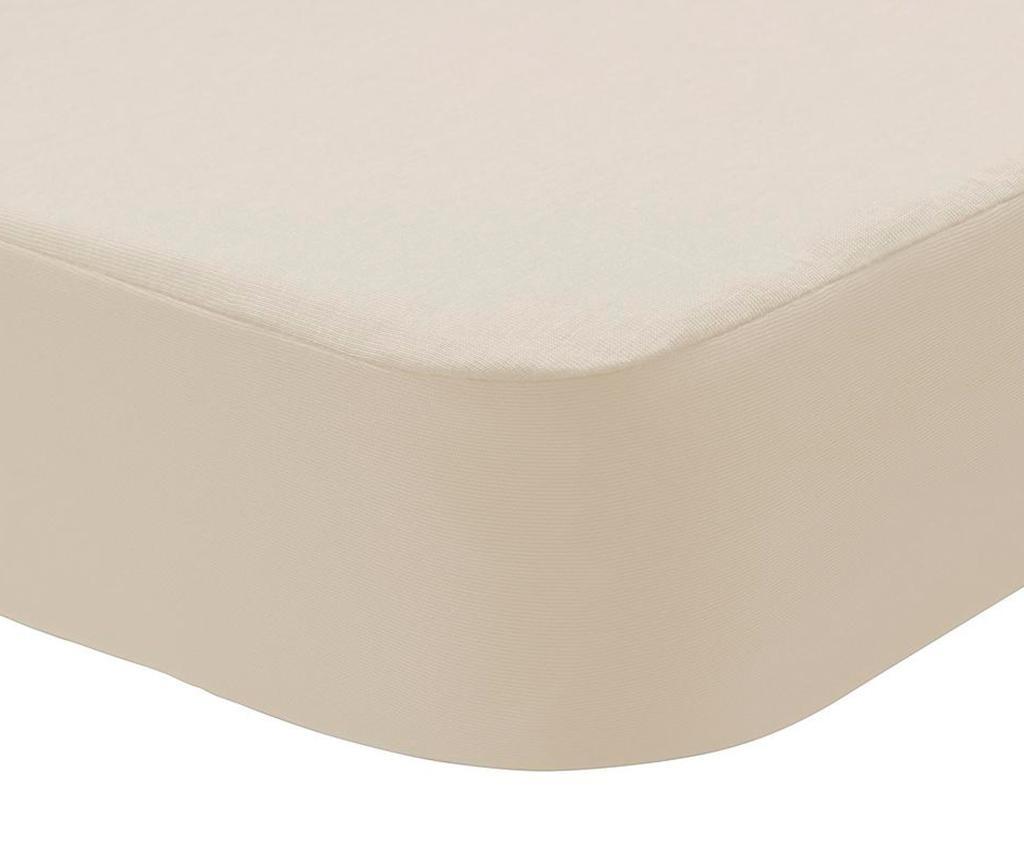 Husa impermeabila pentru saltea Randall 2 in 1 Cream 90x190 cm