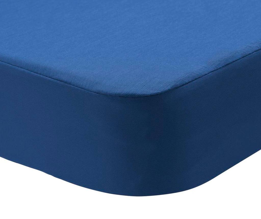Husa impermeabila pentru saltea Randall 2 in 1 Dark Blue 180x200 cm