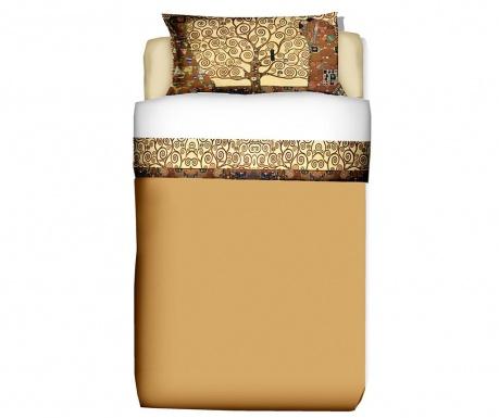 Set - rjuha in prevleka za vzglavnik Single Extra Ranforce Klimt Tree of Life
