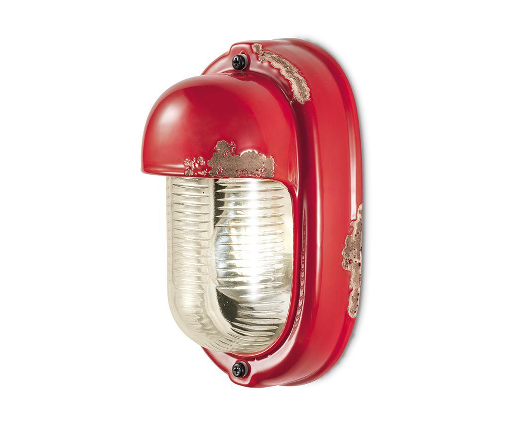 Aplica Perete Vintage Vertical Red