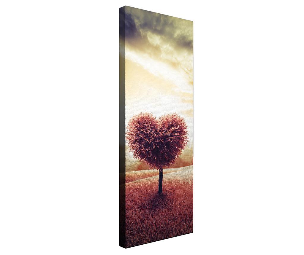 Tablou Heart 30x80 cm