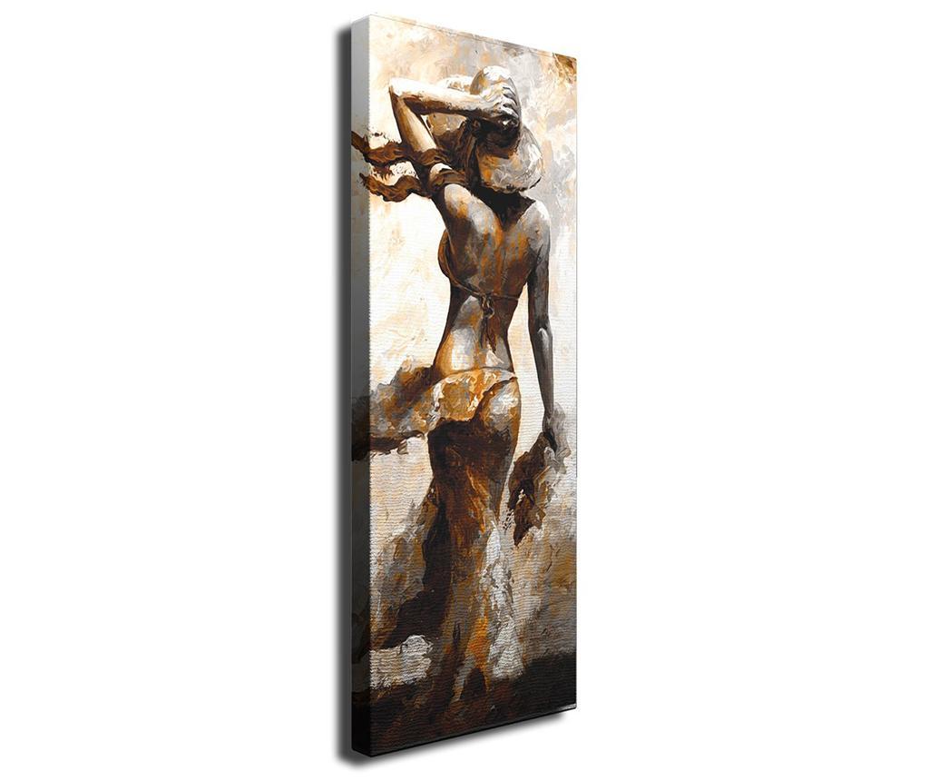 Tablou Nude 30x80 cm - Majestic, Crem imagine 2021