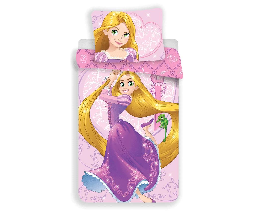 Set de pat Single Ranforce Disney Princess Rapunzel - Disney Princesses, Roz de la Disney Princesses