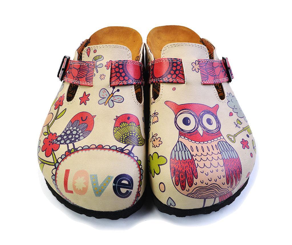 Saboti dama Owl 42 - Calceo, Multicolor