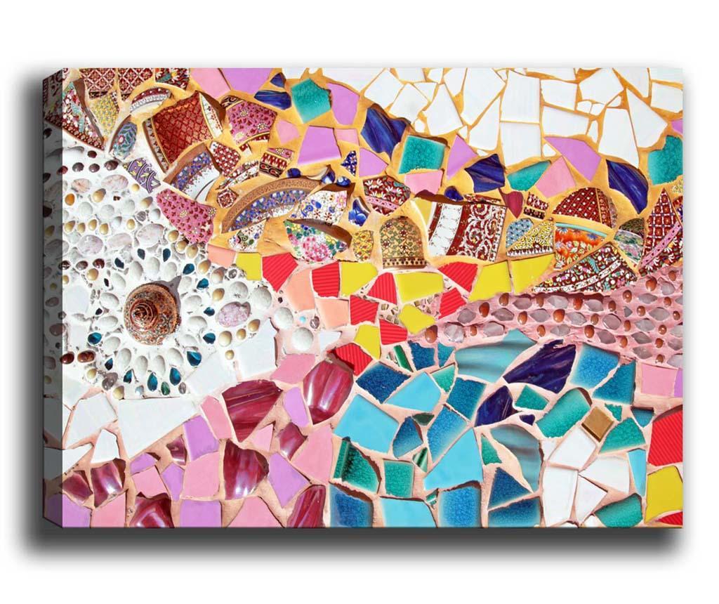 Tablou Mosaic 70x100 cm - Tablo Center, Multicolor