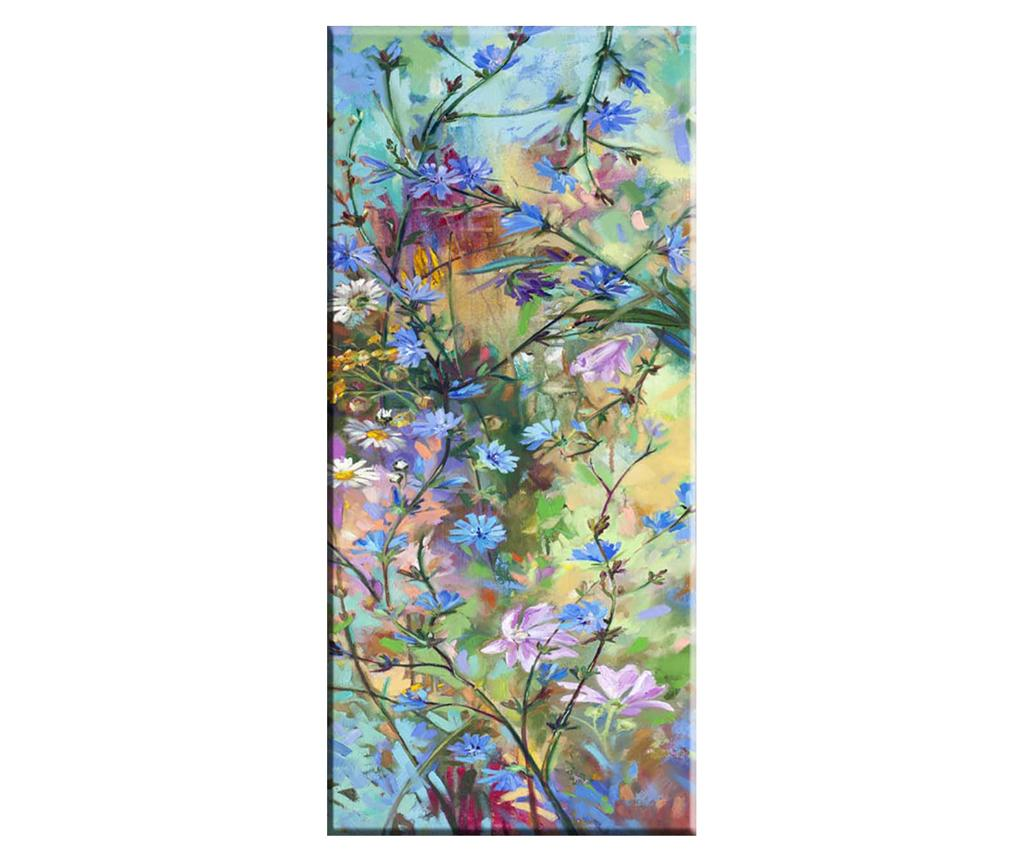 Tablou Field Flowers 60x140 cm - Tablo Center, Multicolor