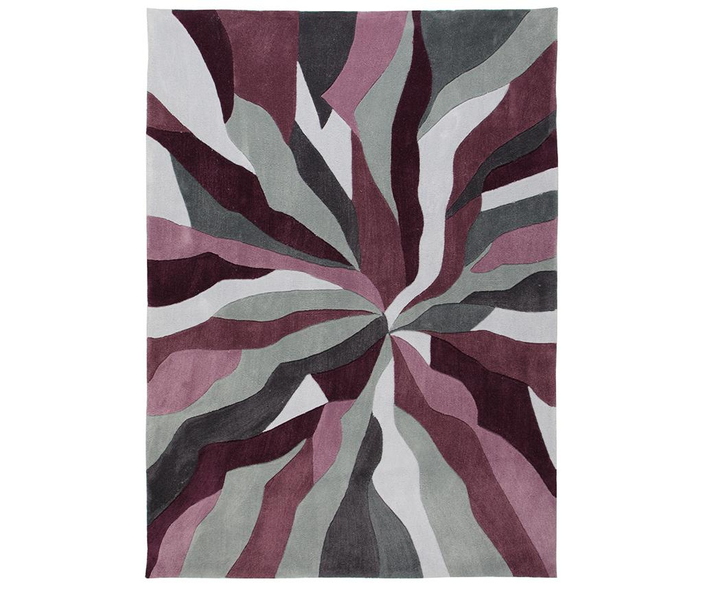 Covor Splinter Purple 80x150 cm - Flair Rugs, Mov