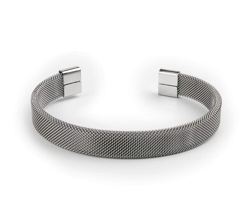 Bratara barbati Eros - Monomen, Gri & Argintiu