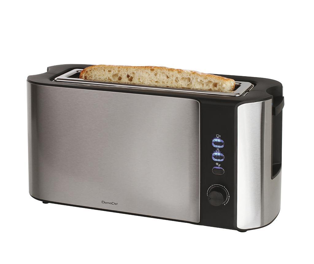 Prajitor de paine Ophelia - LIVOO, Gri & Argintiu