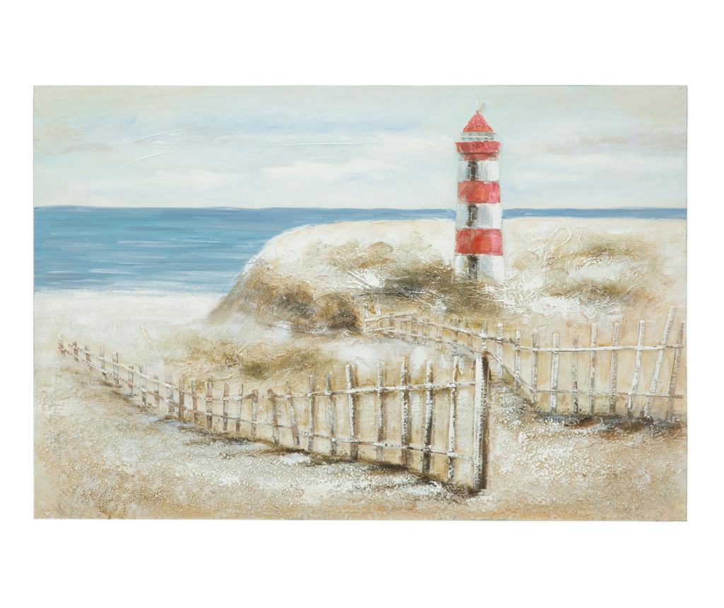 Tablou Christie Light House 80x120 cm - Mauro Ferretti, Multicolor