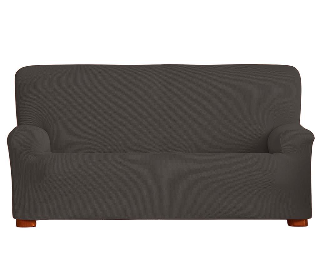 Husa elastica pentru canapea Ulises Grey 180-210 cm - Eysa, Gri & Argintiu