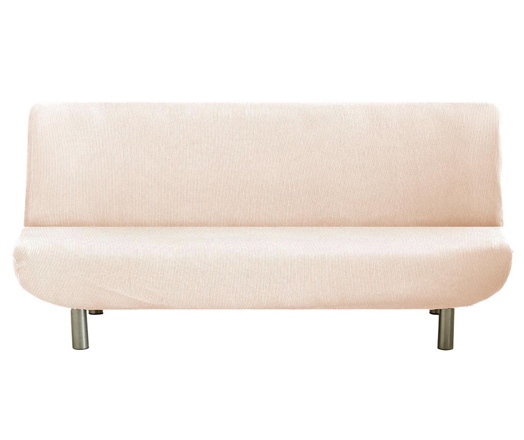 Husa elastica pentru sofa Ulises Clik Clak Ecru - Eysa, Crem