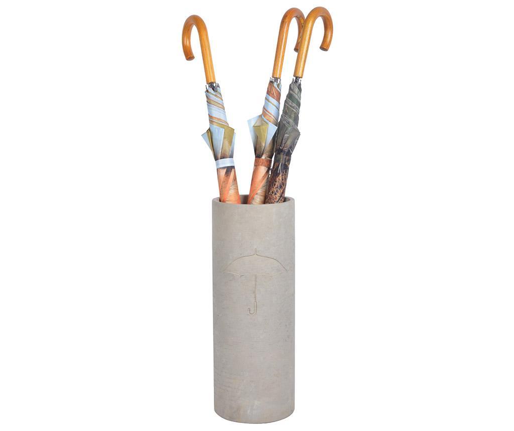 Suport pentru umbrele Rona - Esschert Design, Gri & Argintiu